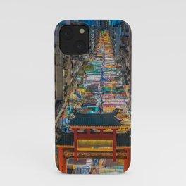 Hong Kong Market iPhone Case