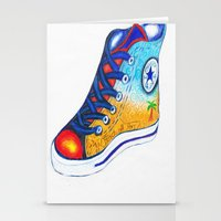 converse Stationery Cards featuring Converse by Artandphotodreams