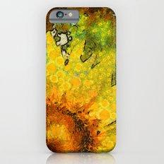 van Gogh styled sunflowers version 3 Slim Case iPhone 6s