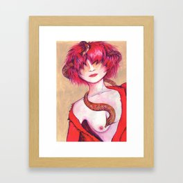Thoughs - Pensamientos Framed Art Print