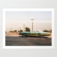 Somewhere In New Mexico Art Print