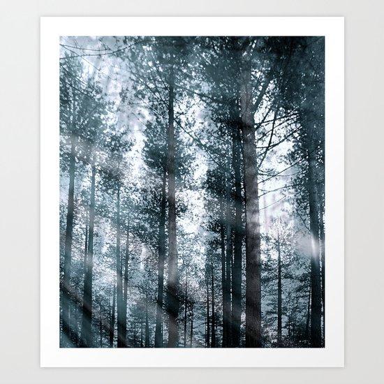 I Talk to the Trees... Art Print
