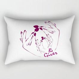 Be  Giver Rectangular Pillow