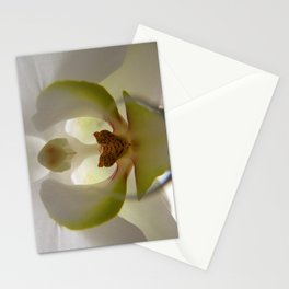 .delicate orchid. Stationery Cards