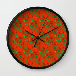 Mike and Ike Christmas Colors #candy Wall Clock