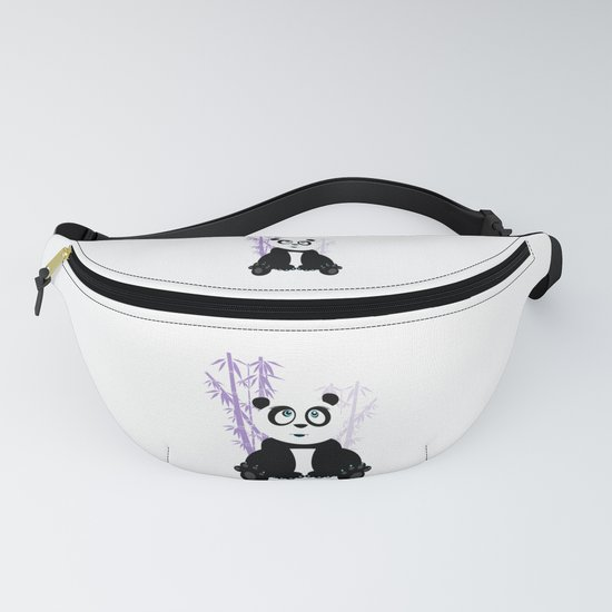 Panda Girl - Purple by adamzworld