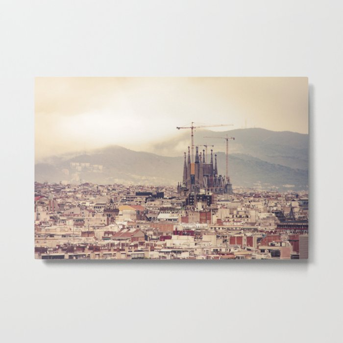 Travel Series: Barcelona Metal Print