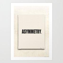 Asymmetry 01 Art Print