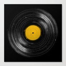 Sound System Canvas Print