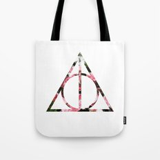 The Girly & Deathly Hallows Tote Bag