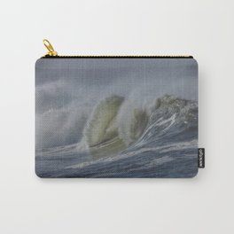 Storm Waves at Humboldt Bay Carry-All Pouch