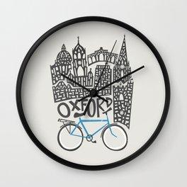 Oxford Cityscape Wall Clock