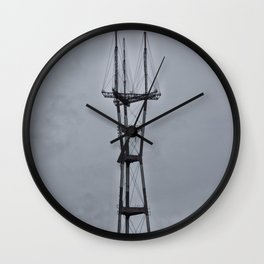Sutro Tower Wall Clock