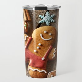 Gingerbread Cookies Travel Mug