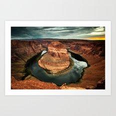 Horseshoe Bend, Arizona Art Print