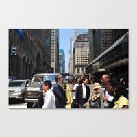 rush Canvas Prints featuring Rush by Ali Inay