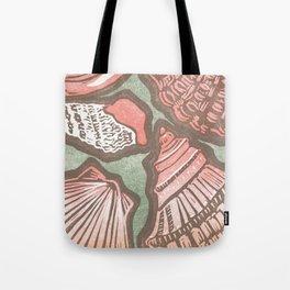 Coral Shells WKS Tote Bag