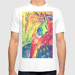 Splashes of colour T-shirt