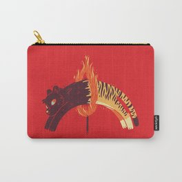 Pouncing Through Fire Carry-All Pouch