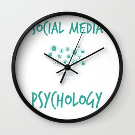 Social Media Can Wait For Psychology Wall Clock
