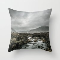 skyfall Throw Pillows featuring Skyfall by tipptapp