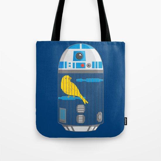 R2 Birdcage Tote Bag