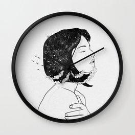 Inside my deepness. Wall Clock