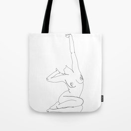 Life drawing illustration - Louie Tote Bag
