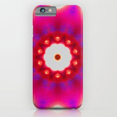 Pink Christmas star Slim Case iPhone 6s