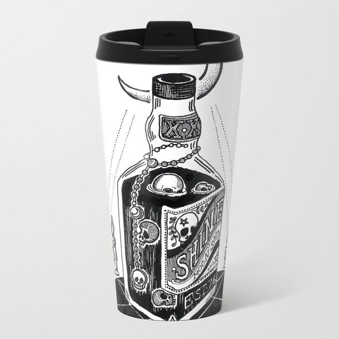 Devil's Moonshine Metal Travel Mug