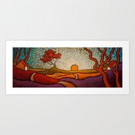Traveler/ GC Myers Art Print