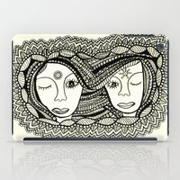 sisters iPad Cases featuring Sisters by NazreenNizamRao