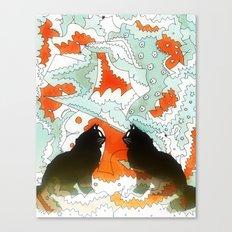 Cats Collaboration Canvas Print