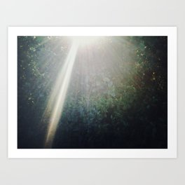 There's a light #02 Art Print