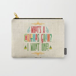 Buddy the Elf! What's a Christmas Gram? Carry-All Pouch