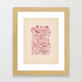 The Tale of Neu (verse 25) Framed Art Print