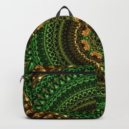 Forest Eye Mandala Backpack