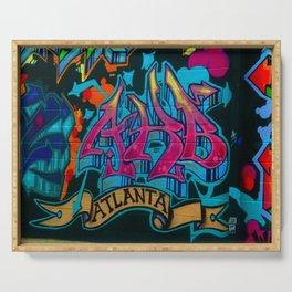 ATL Graffiti Serving Tray