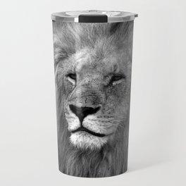 Masai Mara Lion Travel Mug
