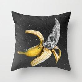 A Planetary Plantain Throw Pillow