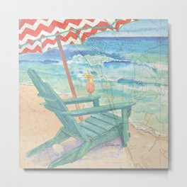 Happy Place / Anna Maria Island Metal Print
