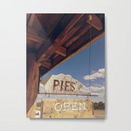 Pies, Please Metal Print
