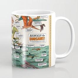 BEHOLD! THE DINOSAURS!  Coffee Mug