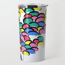 Skittle People Travel Mug