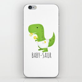 Baby-saur iPhone Skin