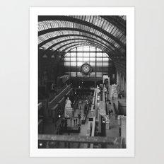 PARIS V Art Print