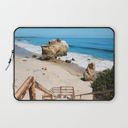 El Matador State Beach Stairs Laptop Sleeve