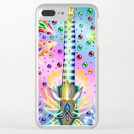 Fusion Keyblade Guitar #56 - Ultima Weapon (KH) & Ultima Weapon (FFVII) Clear iPhone Case
