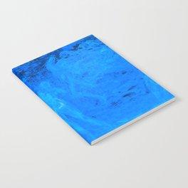 In liquid Indigo Notebook