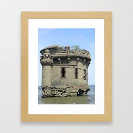 Bannerman's Castle Ruin Framed Art Print
